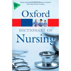 A Dictionary Of Nursing (Oxford Paperback Reference)  (Paperback)