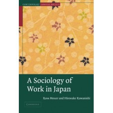 A Sociology of Work in Japan (Contemporary Japanese Society)