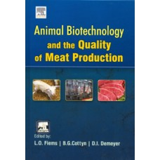 Animal Biotechnology And The Quality Of Meat Production (Hb)